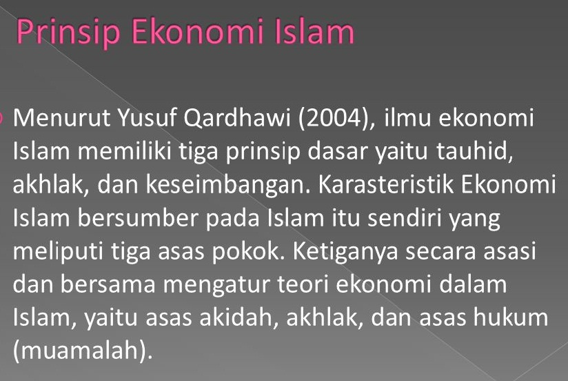 quotes ekonomi islam status baper terkini